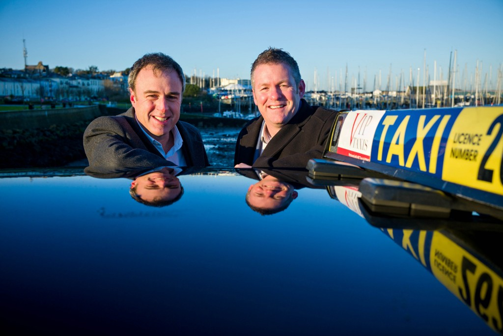 Richard Watson, investment manager, Dublin BIC and Gavan Walsh, founder and CEO, iCabbi