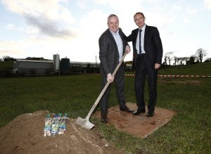 Pictured at the launch of Celtic Pure €5m plant expansion plans at Corcreagh, Co. Monaghan was Chief Executive of Celtic Pure, Padraig McEneaney with Republic of Ireland football manager Martin O' Neill
