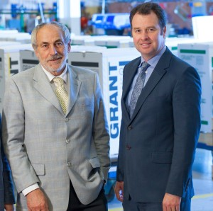 Stephen Grant, Founder and Managing Director with Niall Fay, General Manager, Grant Engineering