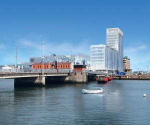 Virtual image of the new Exo building planned for Dublin's Docklands