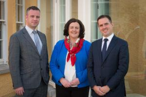 Dr James Ring, Limerick Chamber CEO, Catherine Duffy, President, Limerick Chamber with Martin Shanahan, CEO, IDA Ireland