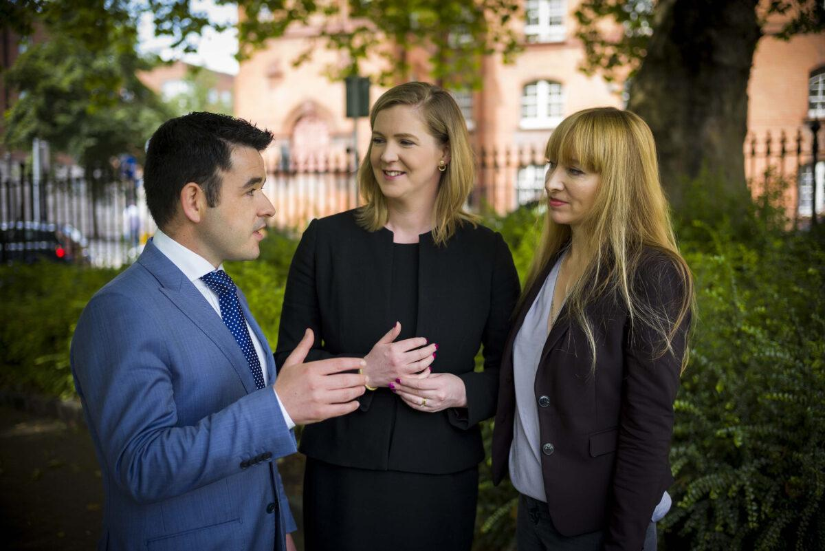 Pictured at the announcement that EMIT has implemented a comprehensive managed IT security service for Depaul, powered by Dell SonicWALL, are (L-R): Eamon Moore, managing director, EMIT; Niamh Townsend, general manager, Dell Ireland; and Aoife Watters, director of finance and corporate services, Depaul.