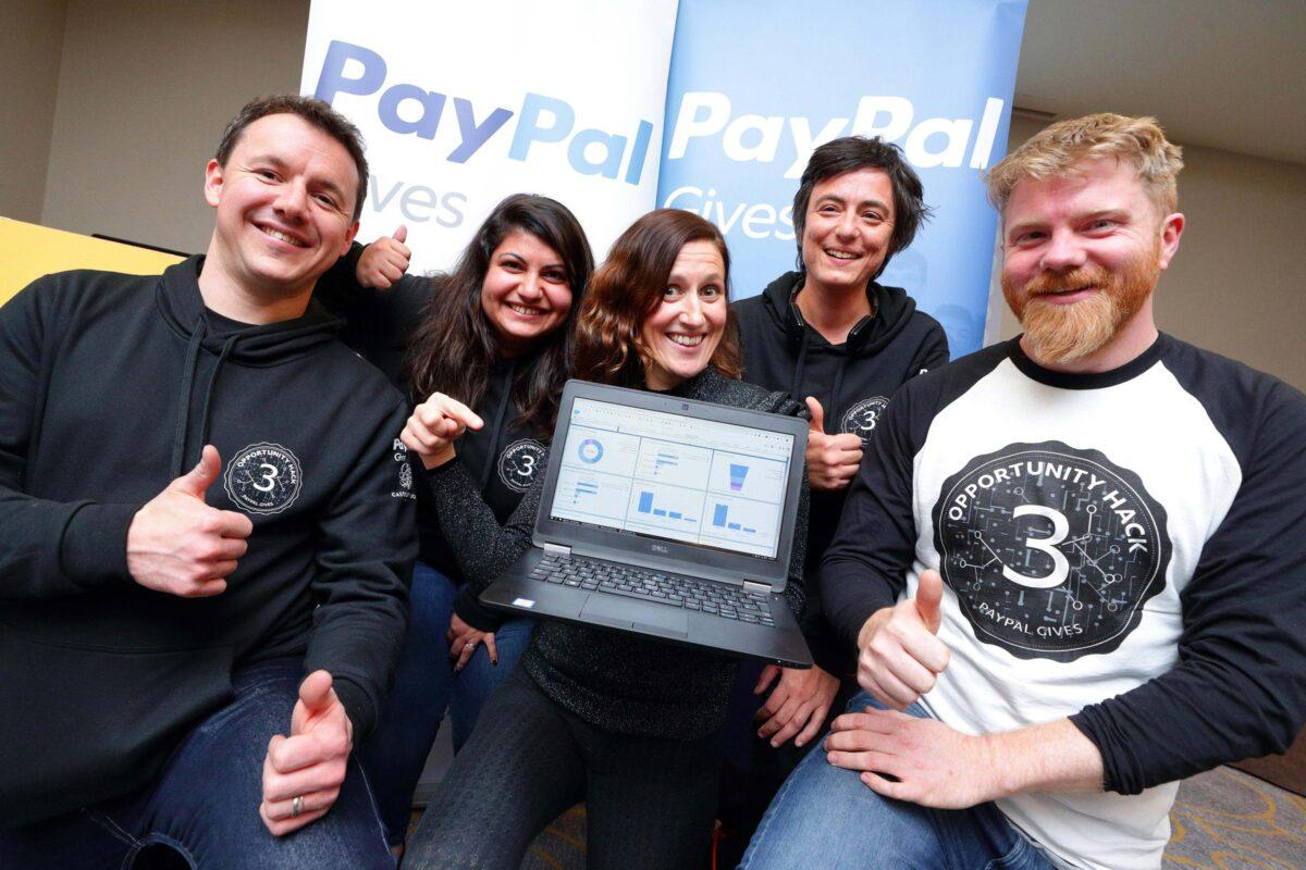 PayPal Charity Dublin Hackathon Digital Solutions Fingal Chamber