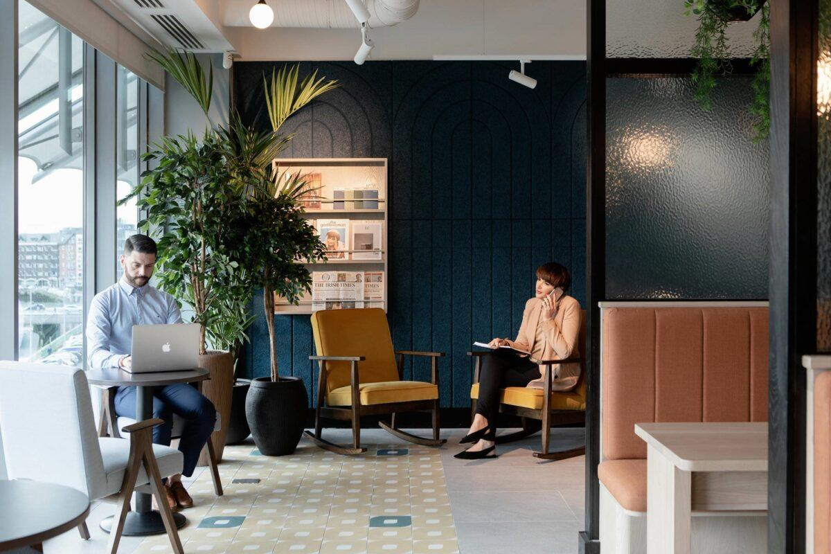 Flexible working spaces, Dublin, Savills, Workthere, Co-Working, globalisation, consolidation, niche spaces, IDA, Bank of Ireland